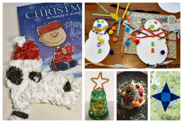 christmas tree craft plus more book crafts