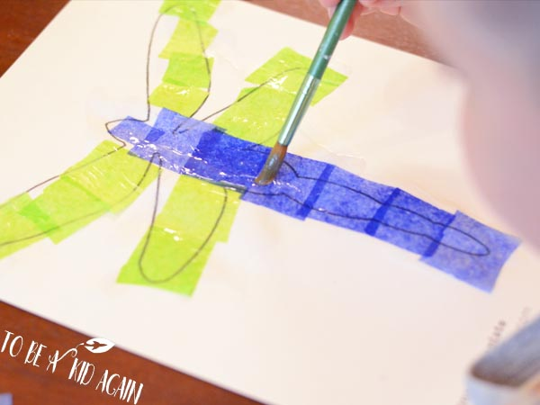 Dragonfly Arts And Crafts For Preschoolers