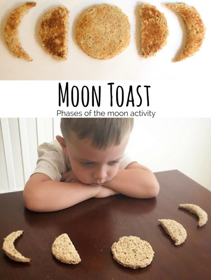 Learn the Phases of the Moon with Moon Toast!