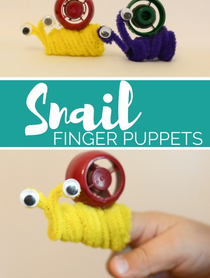 Simple Snail Finger Puppet
