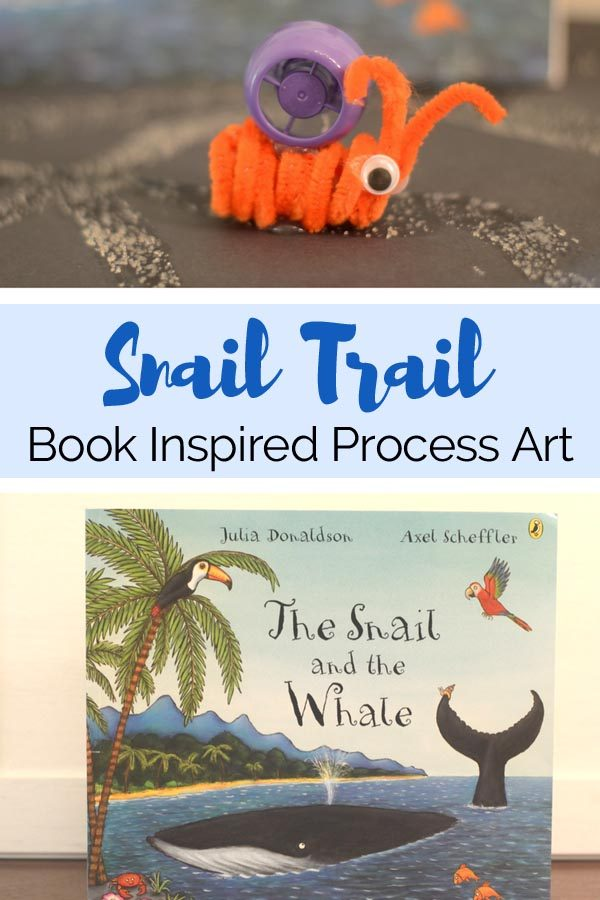 The Snail and the Whale Process Art Book Activity