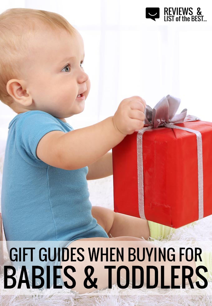 gift guide for newborns, babies, and toddlers