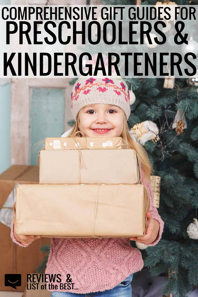 Great list of gift guides for preschoolers and kindergartners