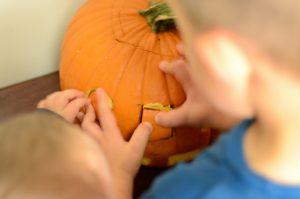 Pumpkin Shape Sorter