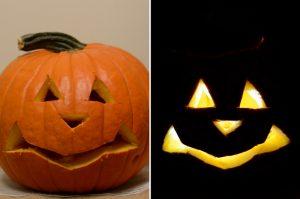 Pumpkin Shape Sorter Jack o lantern
